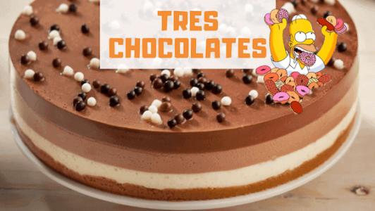 Cómo Hacer Tarta Tres Chocolates