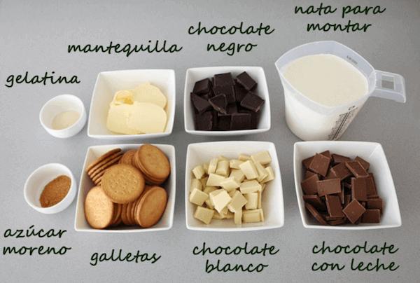 Cómo Hacer Tarta 3 Chocolates