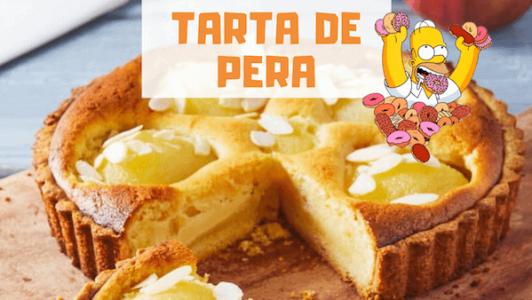 Cómo hacer tarta de pera
