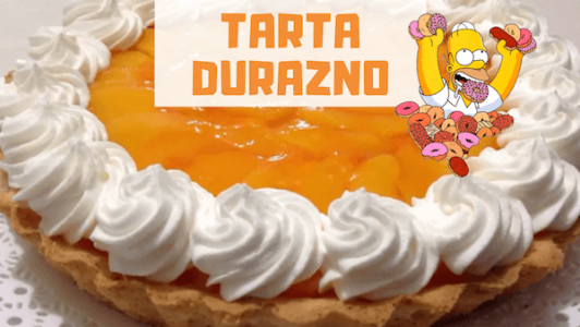 TARTA DE DURAZNO